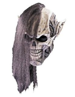 Scary Masks Necromancer Mask Halloween Costume   Most Adults Clothing