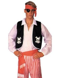 Adult Costume Pirate Kit Adult 1 Sz Halloween Costume   Most Adults Clothing