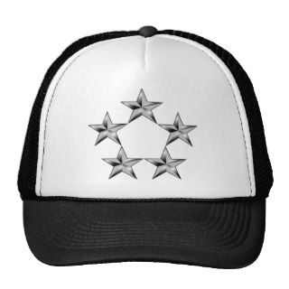 Five star general Trucker Hats