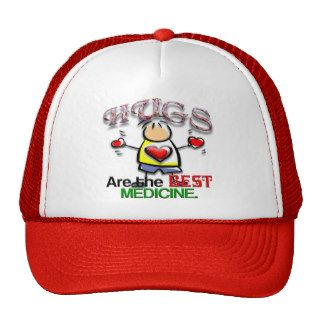 Hugs are the Best Medicine Trucker Hats