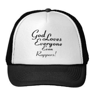 God Loves Rappers Trucker Hat