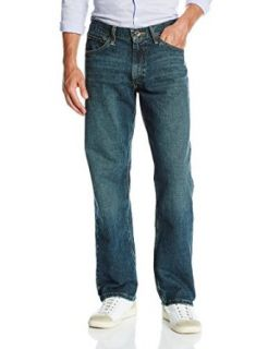 Nautica Men's Loose Fit Medium Wash Jean at  Men�s Clothing store