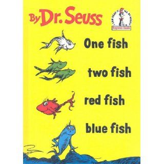 One Fish, Two Fish, Red Fish, Blue Fish (I Can Read It All by Myself Beginner Books) Dr Seuss 9780756921330  Children's Books