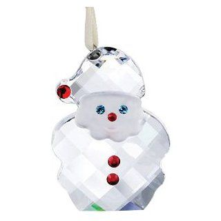 Swarovski Crystal Santa Claus Ornament   Collectible Figurines