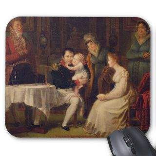Napoleon I  Marie Louise  and the King of Rome Mouse Pad