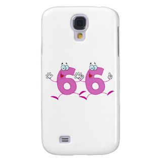 Happy Number 66 Galaxy S4 Cover