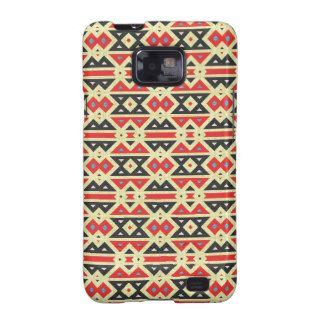 Native American, Aztec Fabric. Tribal Design Of Samsung Galaxy S2 Case