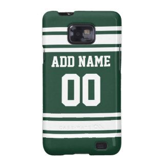 Team Jersey with Custom Name and Number Samsung Galaxy S2 Covers