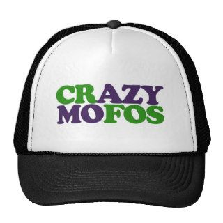 Crazy Mofos Trucker Hats