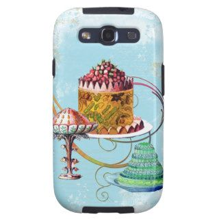 Fancy French Cakes Galaxy S3 Cases