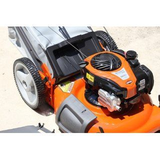 Husqvarna 5521P 21 Inch 140cc Briggs & Stratton Gas Powered 3 in 1 Push Lawn Mower With High Rear Wheels  Walk Behind Lawn Mowers  Patio, Lawn & Garden