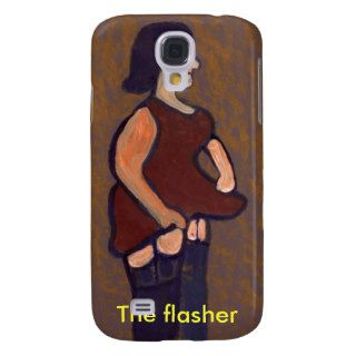 THE FLASHER, iphone case Samsung Galaxy S4 Cases