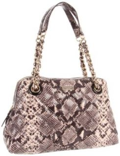 Kate Spade New York Gold Coast Georgina Satchel, Natural/Snake, One Size Shoulder Handbags Clothing