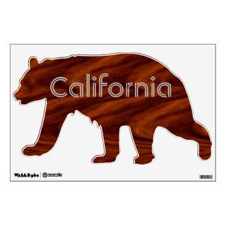 Decal   California bear Wall Graphic
