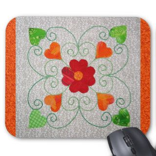 Whimsy Hearts Quilt   Block #2 Mouse Pads