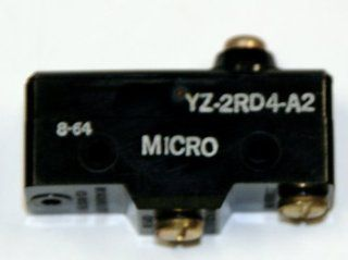 Micro Switch YZ 2RD4 A2 Normally Open BZ Series Pushbutton Actuator Switch