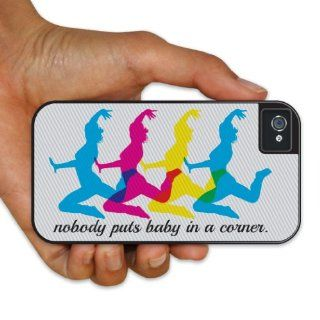 "iPhone 4/4s BruteBoxTM  Dirty Dancing   Movie Quote   ""Nobody puts baby""   2 Part Rubber and Plastic Protective Case Cell Phones & Accessories"