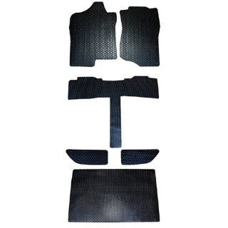 Cadillac Escalade ESV All Weather Rubber Floor Mats Black 2007 2008 2009 2010 2011 & 2012 2013 2014 Automotive