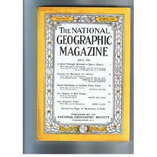 The National Geographic Magazine July, 1956 Multiple Authors. Books