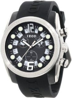 IZOD Men's IZS2/1 BLK Sport Quartz Chronograph Watch Izod Watches