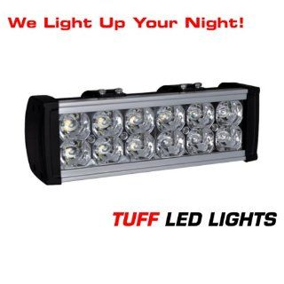 "Tuff LED Lights Off Road 4x4 Jeep Super 10"" inch LED Light Bar 36 Watt 1950 Lumens , Utv, Side By Side Atv, Razor, Rzr, Yamaha Rhino , Polaris Ranger SUV Truck Trailer Golf Cart INCLUDES> FREE UNIVERSAL WIREHARNESS WITH INLINE FUSE, RELAY, AND TUFF"