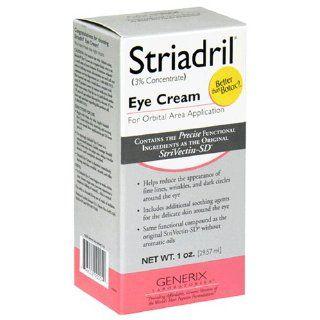 Striadril Eye Cream for Orbital Area Application, 1 Once Tube  Dark Circle Eye Treatments  Beauty