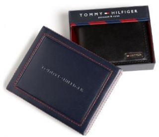 Tommy Hilfiger Men's Multi Card Passcase, Black, One Size at  Men�s Clothing store Credit Card Holders