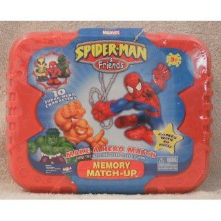 Spider Man & Friends Memory Match up Toys & Games