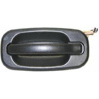 00 05 CHEVY CHEVROLET TAHOE REAR DOOR HANDLE LH (DRIVER SIDE) SUV, Outside, Black (2000 00 2001 01 2002 02 2003 03 2004 04 2005 05) C491310 15721571 Automotive