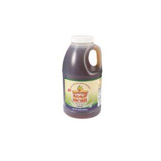 Madhava Organic Raw Agave Nectar, 46 Ounce    6 per case.  Sugar Substitute Products  Grocery & Gourmet Food