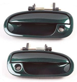 DS182 Clover Green Pearl G95P 96 00 Honda Civic Front Pair Outside Door Handle 96 97 98 99 00 Automotive