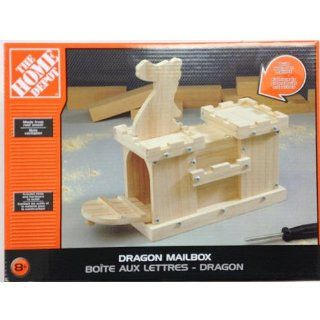 Dragon Mailbox Kit   Build Your Own  Wild Bird Platform Feeders  Patio, Lawn & Garden