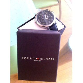 Tommy Hilfiger Men's 1790768 Sport Black Strap with Subdials Watch Tommy Hilfiger Watches