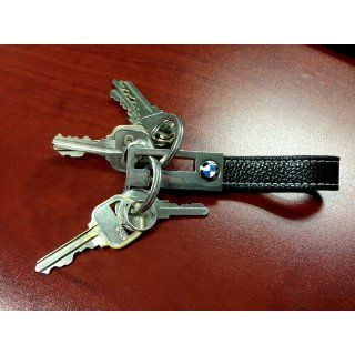BMW 3 Ring Leather Key Fob Automotive