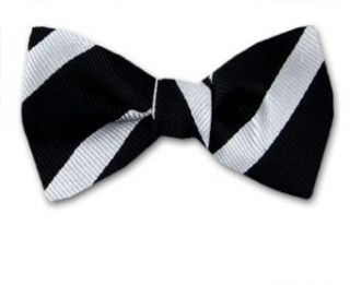 FBTS 9447   Black   Silver   Mens Self Tie Bow Tie at  Men�s Clothing store