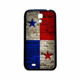 Panama Brick Wall Flag Samsung Galaxy S4 Black Silcone Case   Provides Great Protection Cell Phones & Accessories