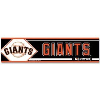 San Francisco Giants Bumper Sticker Decal  Sports Related Merchandise  Sports & Outdoors