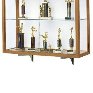 Waddell Mounting Brackets for Trophy Display Case D81010  Sports Related Display Cases  Sports & Outdoors