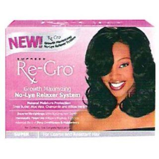 Empress Re Gro Growth Maximizing No Lye Relaxer SUPER  Hair Relaxer Creams  Beauty