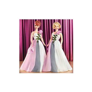 I Love Lucy Lucy & Ethel Buy Same Dress Barbie Doll Set Toys & Games
