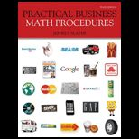 Practical Business Math Procedures (Looseleaf)   Package