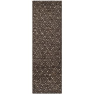 Safavieh Tunisia Dark Brown Rug (26 X 6)