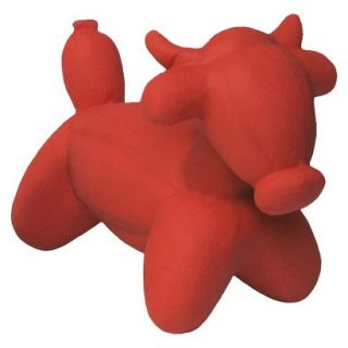 Charming Pet Farm & Jungle Balloon Collection   Bull Large (Red)