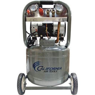 California Air Tools Ultra Quiet, Oil-Free Air Compressor — 2 HP, 10-Gallon, Model# 10020  1   10 Gallon Air Compressors