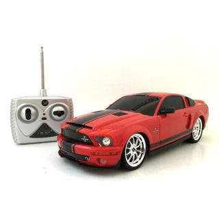 Remote Control 118 scale Red Ford Mustang Cobra   13055409
