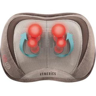 HoMedics 3D Shiatsu Massage Pillow with Heat