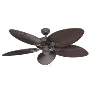 52 Coral Island 5 Blade Indoor Ceiling Fan with Remote by Calcutta