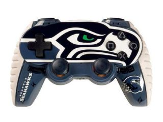 Mad Catz Officially Licensed NFL Wireless Controller For PS3   Seattle Seahawks