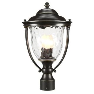 Progress Lighting Prestwick Collection Oil Rubbed Bronze 3 light Post Lantern P5484 108