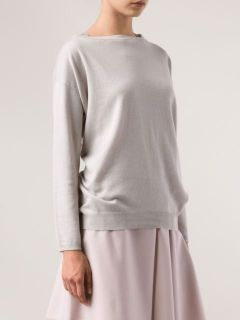 Brunello Cucinelli Studded Neck Sweater